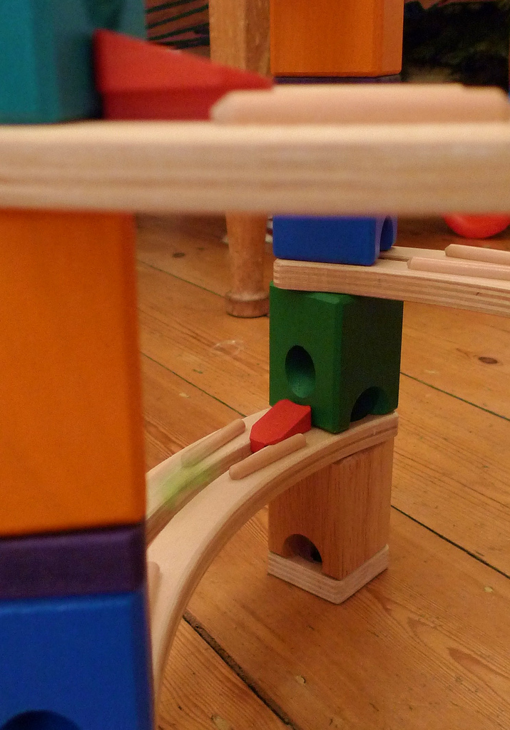 Promote STEM learning with a wooden marble run. Endless hours of fun and this post goes over the best wooden marble runs around.
