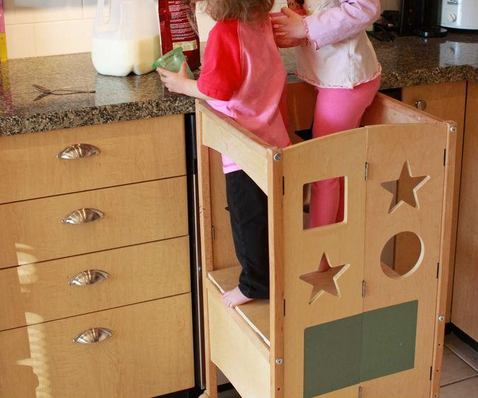 Bon Best Kids Step Stool And Kitchen Helper