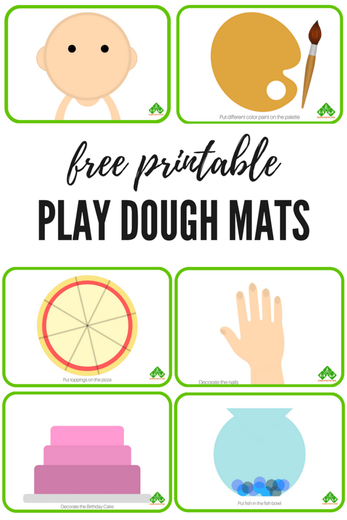 Selective image pertaining to free printable playdough mats