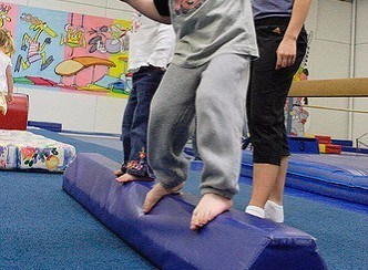 folding balance beam for kids